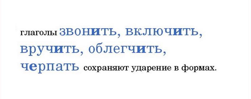 """Постановка ударения в формах слова """"облегчить"""" сохраняется"""