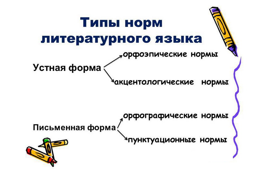 типы норм русского языка